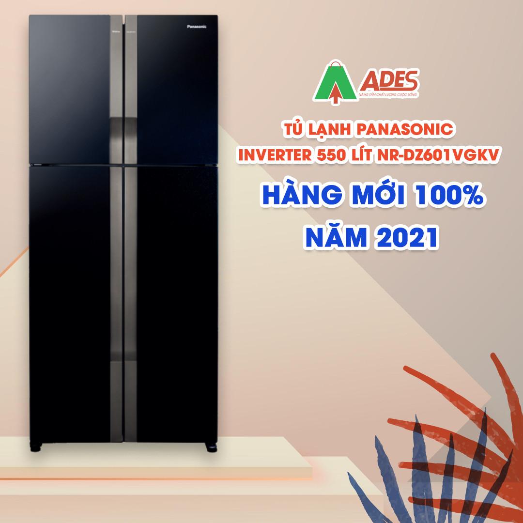 Panasonic Inverter 550 Lit NR DZ601VGKV moi 2021